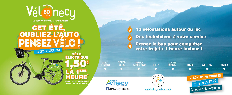 Lancement Vélonecy 60 minutes