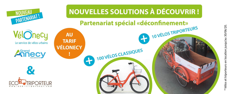 Partenariat Eco-triporteur