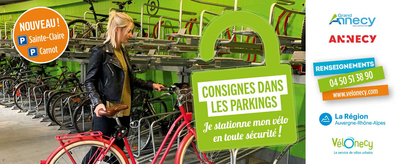 Nouvelles Consignes Vélos