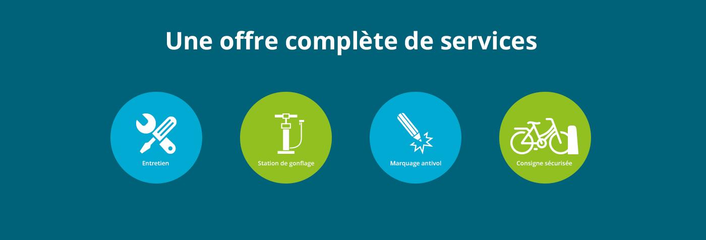 Offre complète de services